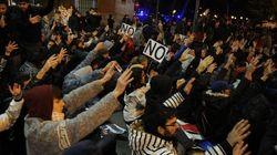 Abren expediente a 300 personas por la manifestación