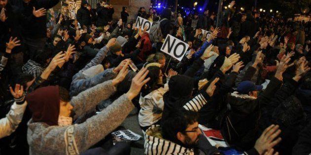 La Delegación del Gobierno en Madrid abre expediente a 300 personas por la manifestación