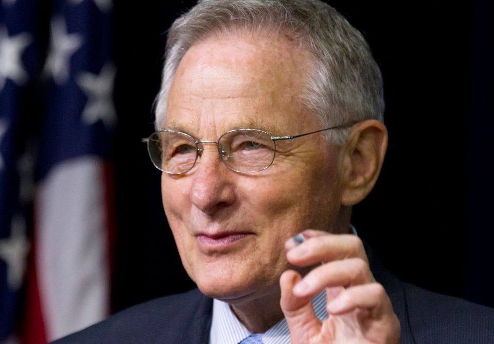 Former Sen. Birch Bayh (D-Ind.), who pushed for the landmark 1972 federal law banning discrimination against women in college