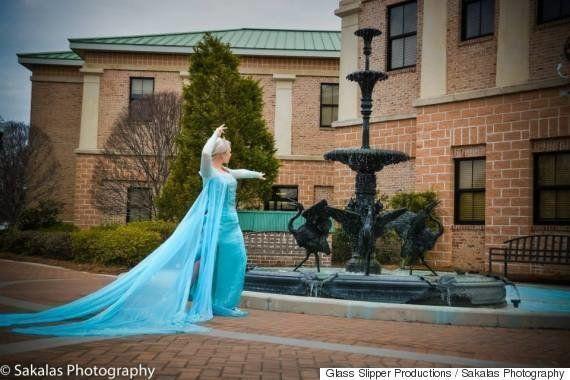 Elsa, de 'Frozen', detenida por causar una ola de frío en Carolina del Sur