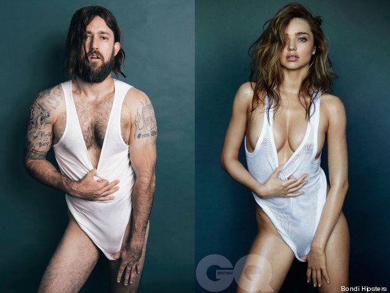 ¿Y si los modelos masculinos posaran como las mujeres?