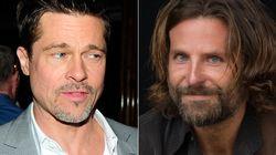 El 'photobomb' de Bradley Cooper a Brad Pitt en