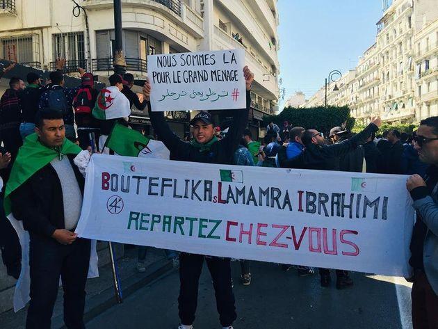 Ce vendredi aussi, des centaines de milliers d'Algériens dans la