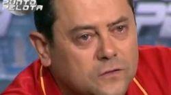 Roncero rompe a llorar tras la clasificación de España para la