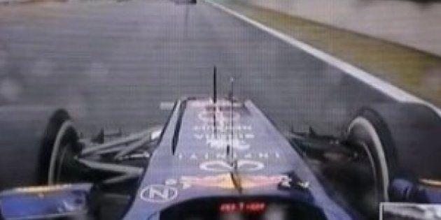 ¿Adelantó Sebastian Vettel a dos rivales con bandera amarilla?