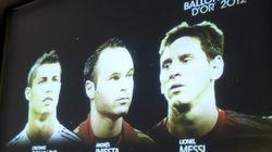 Messi, Cristiano Ronaldo e Iniesta, finalistas al Balón de