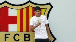 Neymar, presentado: