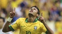 Neymar se estrena en la Confederaciones con un golazo