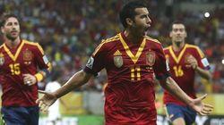 Exhibición de calidad de España ante Uruguay (2-1)