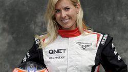 La piloto española María de Villota, grave tras un accidente