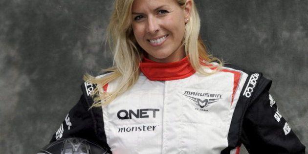 María de Villota, herida grave: La piloto español sufre un accidente con su Formula 1