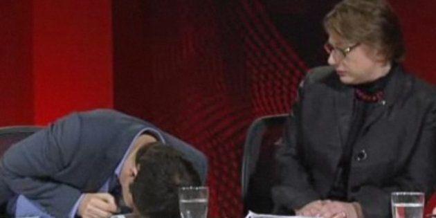Sophie Mirabella: la diputada australiana es criticada por no auxiliar a un contertulio en directo