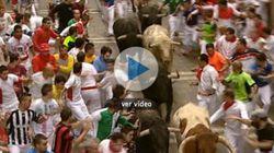 Sanfermines 2012, quinto encierro: Los toros de Fuente Ymbro protagonizan una carrera limpia y sin heridos (FOTOS,