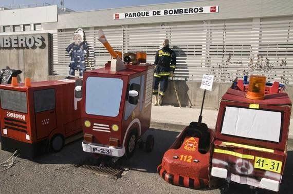 Los bomberos y el parque fantasma de