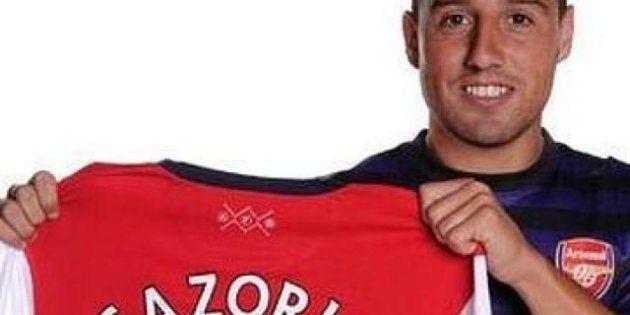 Santi Cazorla deja el Málaga y ficha por el Arsenal