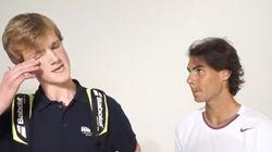 Rafa Nadal conoce a Rafa Nadal