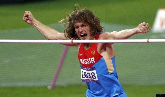 El atleta ruso Ivan Ukhov: saltó borracho en 2008 y se lleva el oro en los