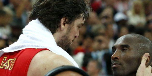 Juegos Londres 2012: Kobe Bryant, sobre Pau Gasol: