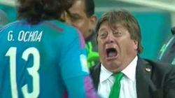 El 'show' del entrenador de México y otras imágenes del