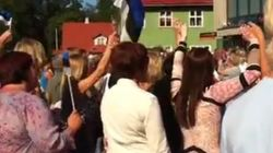 Así recibieron en Estonia a su 'héroe' olímpico