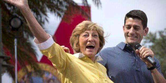 Elecciones EEUU 2012: Paul Ryan, candidato a vicepresidente, hace campaña con su madre