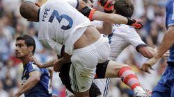 Otra vez Pepe: violento choque contra Casillas