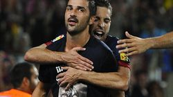 Villa regresa con un gol ocho meses después