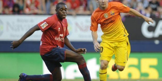 El Barcelona gana a Osasuna (1-2) con dos goles de Messi en cinco minutos