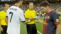 Cristiano y Messi ni se saludan