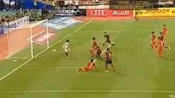 Así ha sido el primer gol de Neymar con el Barça