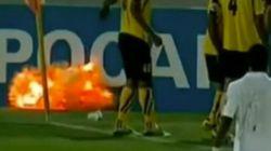 Una granada explota en un partido de fútbol de la Champions asiática