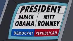 ¿Obama o Romney? El voto de Homer es para... (VÍDEO,