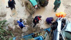 Un muerto en Málaga por las fuertes lluvias (FOTOS,