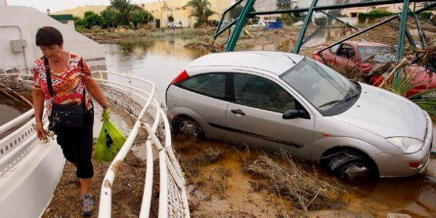 Inundaciones sureste España: 10 muertos por las lluvias en Murcia, Almería y