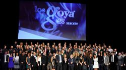 Así han sido los Goya