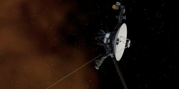 La sonda Voyager 1, primera creación del hombre en abandonar el sistema solar