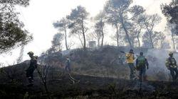 El incendio de Òdena (Barcelona) ya ha arrasado mil