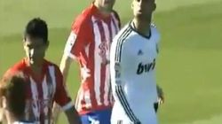 Un canterano del Madrid agrede a un rival y escupe a