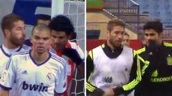 Costa y Ramos, de escupirse a ser pareja de entrenamiento