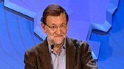 La cara de Rajoy al ser interrumpido en San Sebastián (FOTOS,