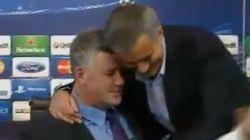 ¿Por qué abraza Mourinho a este hombre?