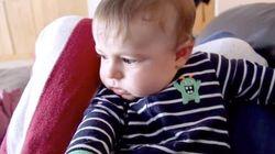 Esto es lo que pasa cuando un bebé llorando se ve en un vídeo...
