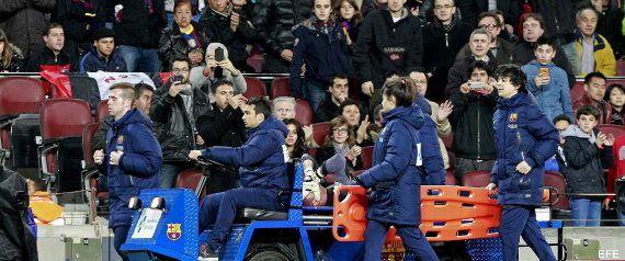 Valdés se lesiona: rotura en el ligamento cruzado anterior de la rodilla