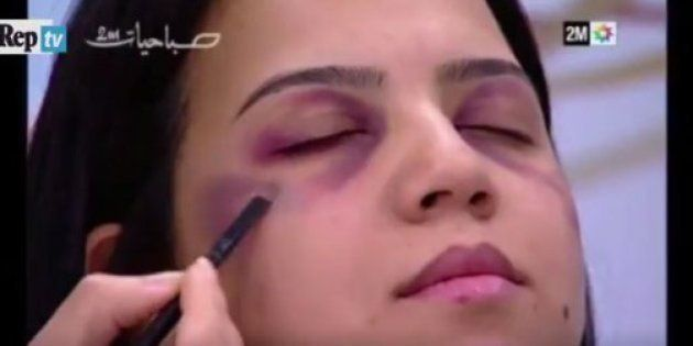 Cubrir la violencia con maquillaje: el peligroso vídeo que indigna en