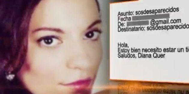 SOS Desaparecidos recibe un email firmado por 'Diana Quer':