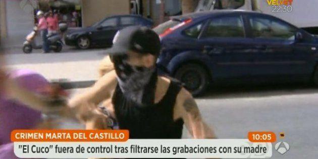 Brutal agresión de 'el Cuco' a un reportero de Antena