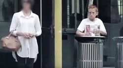 ¿Ayudarías a un niño que busca en la basura en tu ciudad?