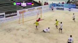 Quizás el mejor gol de fútbol playa que has visto