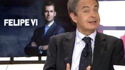 Alberto Garzón y Zapatero, muy acalorados por la república