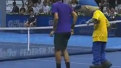 Federer baila el Moonwalk
